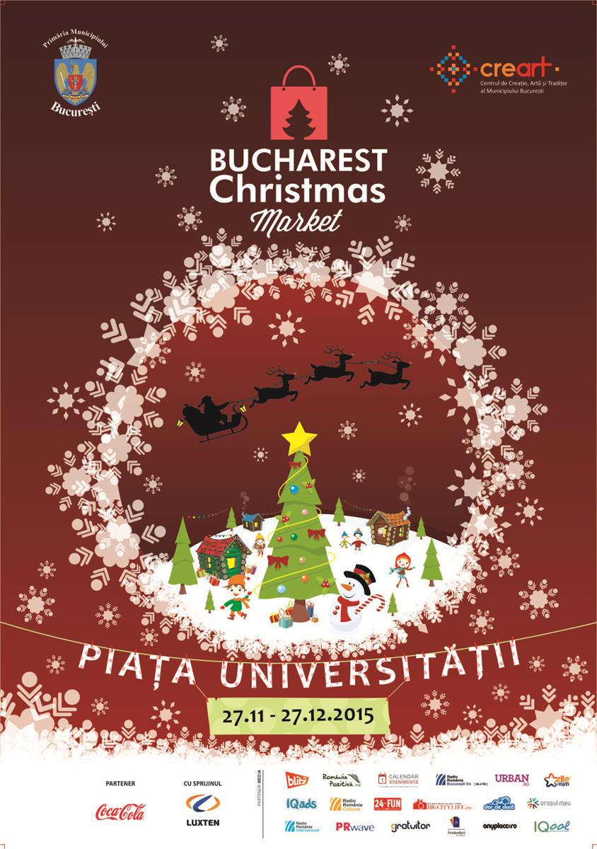 Poster Bucharest Christmas Market